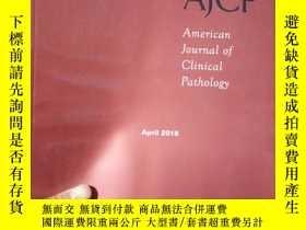 二手書博民逛書店American罕見Journal of Clinical Pa