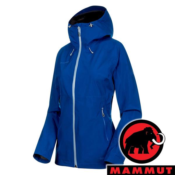 【MAMMUT 長毛象】女 Convey Tour 單件式GT連帽外套『水鴨藍/藍寶石』1010-26022 戶外 登山 保暖 禦寒