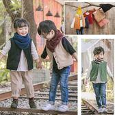 文藝風雙口袋鋪棉背心 中性款 夾克 外套 橘魔法Baby magic 現貨 兒童 童裝 女童 男童 兒童薄外套
