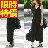 洋裝-長袖個性時尚流行韓版連身裙61a38[巴黎精品]