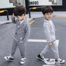 兒童西裝 男童西服春裝新款寶寶西裝三件套中小童春款套裝嬰幼兒童正裝 韓菲兒