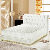 【睡芝寶】防蹣抗菌3M防潑水護邊獨立筒床墊單人3.5尺