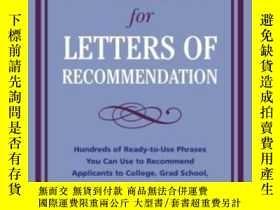 二手書博民逛書店Perfect罕見Phrases For Letters Of