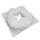 拋棄式開洞十字臉巾 100片裝_面膜級用布_防汙臉墊_30x34cm