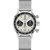 Hamilton 漢米爾頓INTRA-MATIC 正熊貓復刻計時機械錶(H38416111)