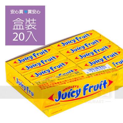 【黃箭】口香糖,21g,20條/盒,請勿吞食,平均單價9.45元