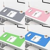 書桌墊護眼環保可裁剪兒童學習桌寫字臺墊子電腦辦公防臟防水PVC鼠標墊 童趣潮品