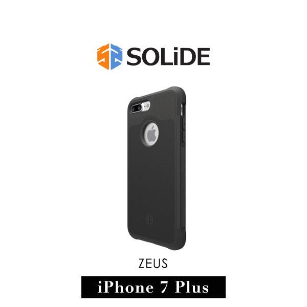 【G2 STORE】SOLiDE ZEUS 軍規級 iPhone 7 Plus 防摔 保護殼 石墨黑
