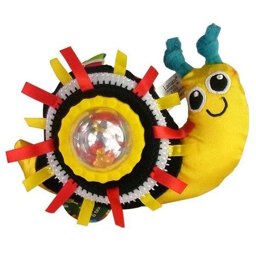 Lamaze拉梅茲嬰幼兒玩具 轉轉小蝸牛搖鈴 LC47185