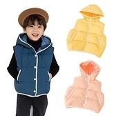 Baby童衣 秋冬新款 兒童羽絨棉背心 男女寶寶加厚連帽背心 88589