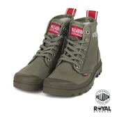 Palladium 新竹皇家 PAMPA 軍綠色 帆布 軍靴 高筒 男女款 NO.B0339