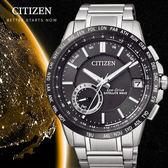 CITIZEN Eco-Drive 多功能GPS衛星定位萬年曆腕錶(CC3007-55E)-黑43.5mm