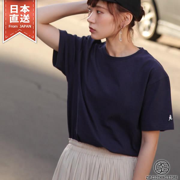 簡約素色短袖T恤 KANGOL聯名款