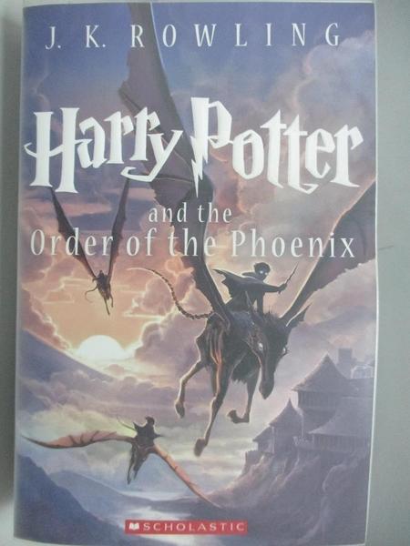 【書寶二手書T1/原文小說_AOC】Harry Potter and the Order of the Phoenix_Rowling