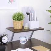 【頂堅】寬48公分(Z型)桌上型置物架/螢幕架(二色可選)深胡桃木色
