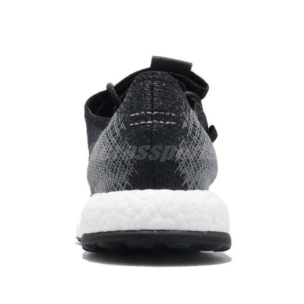 adidas 慢跑鞋 PureBOOST 黑 灰 白 編織鞋面 男鞋 女鞋 運動鞋【PUMP306】 EE4282