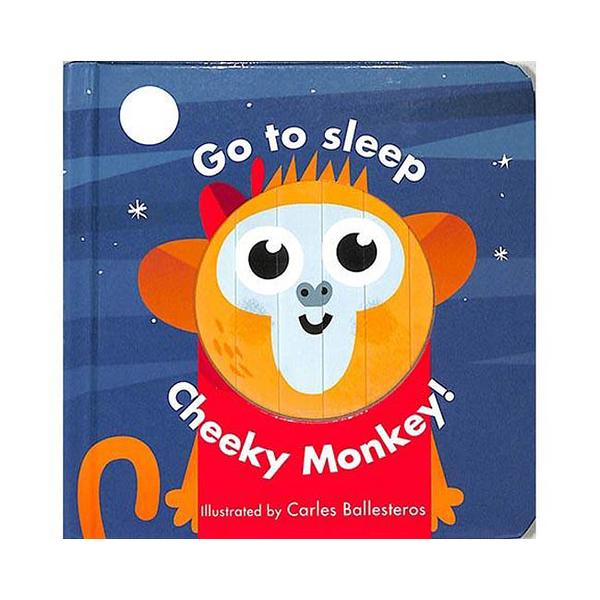 Little Faces:Go To Sleep Cheeky Monkey! 變臉操作書:淘氣小猴篇