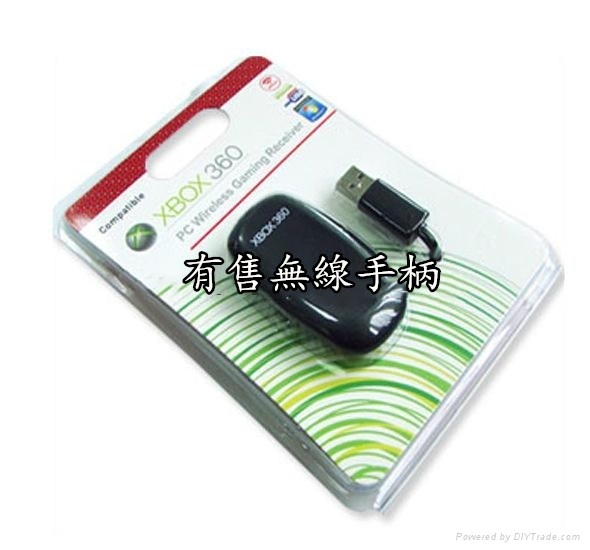 微軟Microsoft 手柄的接收器 全新 Xbox 360 無線手柄接收器(也有Switch周邊)