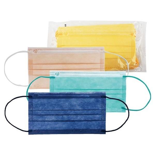 盛籐 馬卡龍系列 成人平面醫療用口罩(10入) 款式可選 【小三美日】MD雙鋼印