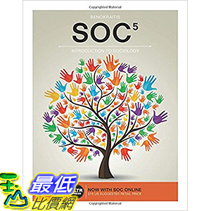 [106美國直購] 2017美國暢銷軟體 SOC ( SOC Online, 1 term (6 months) Access Card) (4LTR Press) 5th Edition