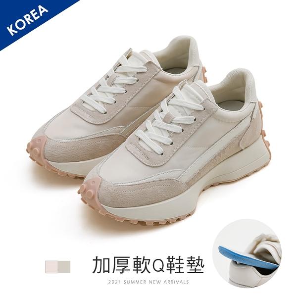 老爹.真皮豆豆底老爹鞋-FM時尚美鞋-韓國精選.Height