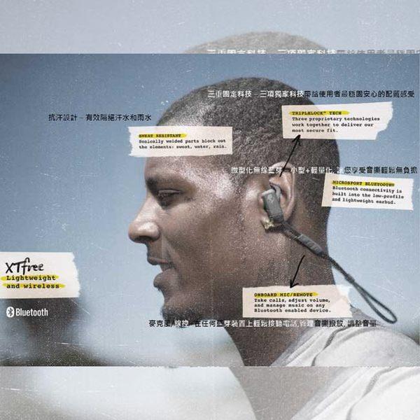 《飛翔3C》Skullcandy 骷顱糖 XTFREE 運動系列 藍芽耳塞式耳機 黑灰 S2WUHW-448〔公司貨〕