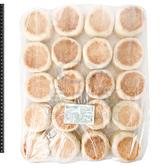 2D4B【魚大俠】FF620義美-英式馬芬堡麵包(20個/1.26kg/包)#滿福堡#純素