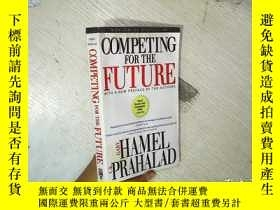 二手書博民逛書店COMPETING罕見FOR THE FUTURE 爲未來而戰