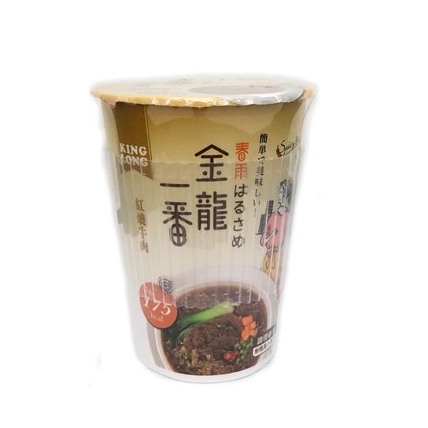 金龍一番杯裝即食冬粉 紅燒牛肉