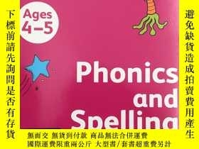 二手書博民逛書店Collins罕見Phonics and Spelling: A