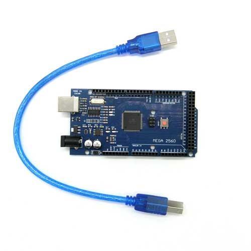 相容Arduino MEGA2560 R3 開發版 (附線)