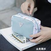女生旅行日常洗漱便攜包大容量可愛小方包少女心收納包可愛化妝包 金曼麗莎