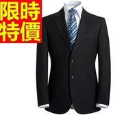 成套西裝 包含西裝外套+褲子 男西服-上班族制服精緻品味合身剪裁隨意54o44[巴黎精品]