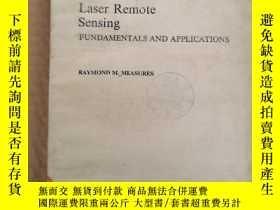 二手書博民逛書店Laser罕見Remote Sensing fundamentals and applications(P007)