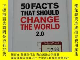 二手書博民逛書店50罕見FACTS THAT SHOULD CHANGE THE WORLD【283】Y10970 jessi