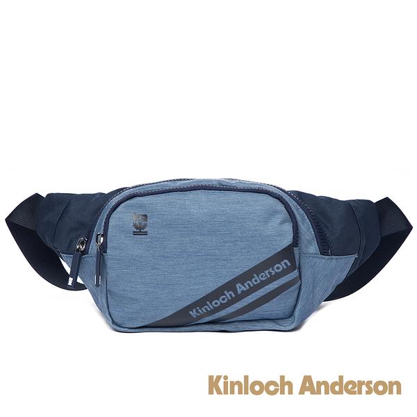金安德森 Even簡約造型腰包 深藍色