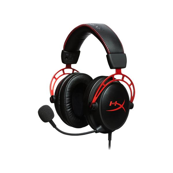 【福利品、9.9成新】HYPERX CLOUD Alpha (HX-HSCA-RD/AS) 電競耳機麥克風