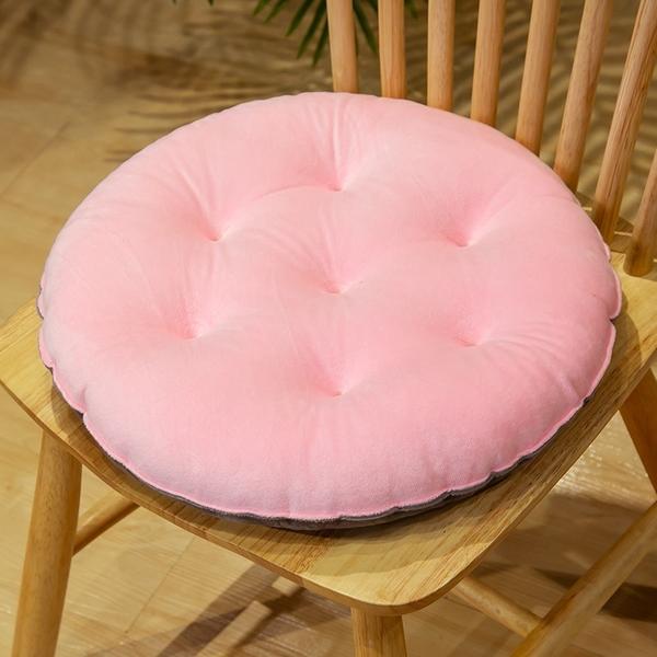 【$99免運】雙色拼接水晶絨坐墊 MMY001 坐墊 椅墊 墊子 打坐墊