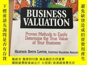 二手書博民逛書店Business罕見valuation—Proven Metho