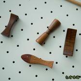包有味道筷架筷托家用 實木拼接多 筷枕日式木質餐具筷子架