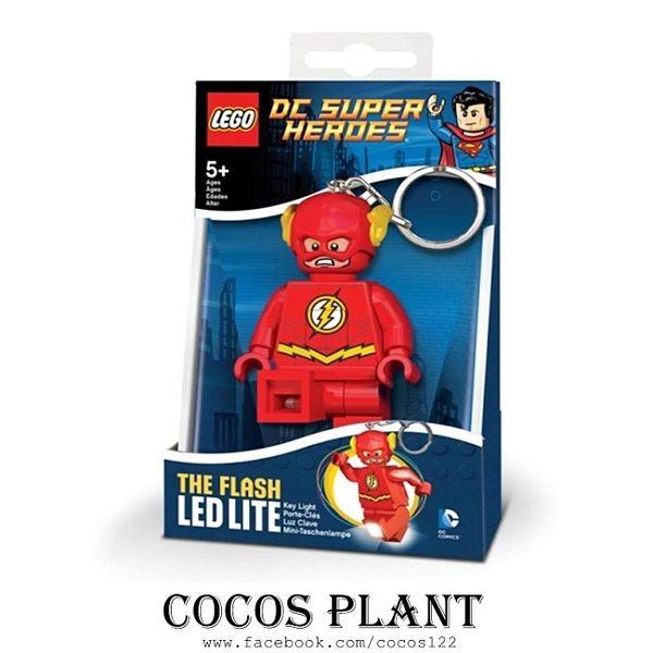 樂高鑰匙圈 DC英雄 閃電俠 人偶造型LED 鑰匙圈鎖圈 盒裝 COCOS LG320