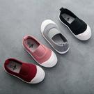 鬆緊套鞋帆布鞋 可當室內鞋 休閒鞋 帆布...