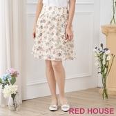 【RED HOUSE 蕾赫斯】花朵波浪裙