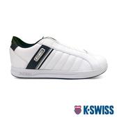 【超取】K-SWISS Lundahl Slip-On S CMF鞋套式運動鞋-男-白/黑