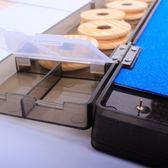 三用魚漂盒主線盒帶剪刀組合收納漂盒漁具配件釣魚垂釣用品子線盒igo k-shoes