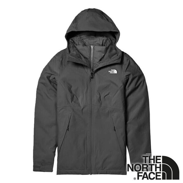 【THE NORTH FACE 美國】女兩件式 PrimaLoft防風 保暖連帽外套『黑色』 NF0A4NFB 休閒 保暖 防風