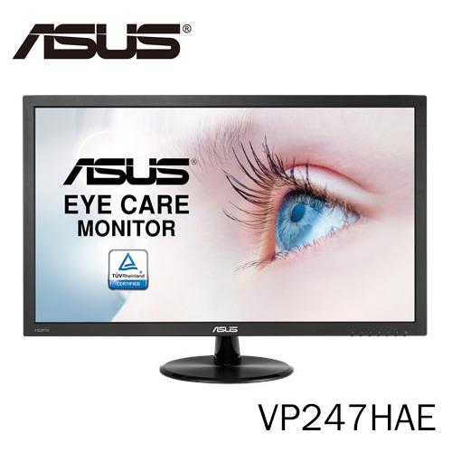 華碩 ASUS 24型 23.6吋 Full HD VP247HAE 超廣角 不閃屏 超低藍光護眼 VA螢幕