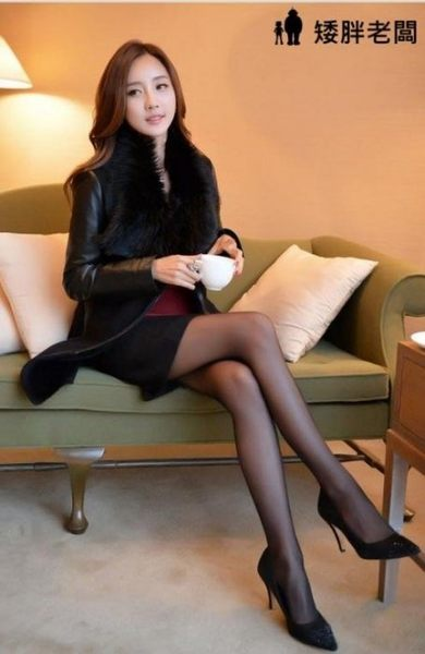 矮胖老闆 絲襪 顯瘦 OL 絲襪 透膚 情趣絲襪 黑色褲襪 性感絲襪 辦公室絲襪 工作絲襪【A327】