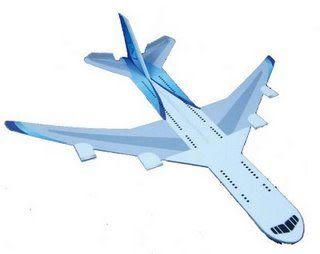 DIY噴射紙飛機 / 波音747 (5入)
