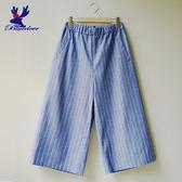 American Bluedeer- 直紋八分寬褲(魅力價)